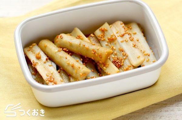ごぼうの美味しい常備菜4
