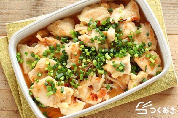 鶏肉の常備菜レシピ特集☆和風7