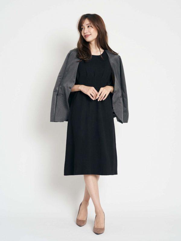 営業の女性に合う服装《ワンピ》5