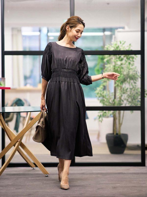 営業の女性に合う服装《ワンピ》2