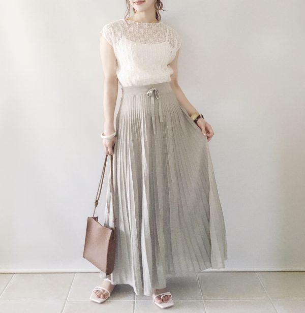 【トップス/natural couture スカート/GU】