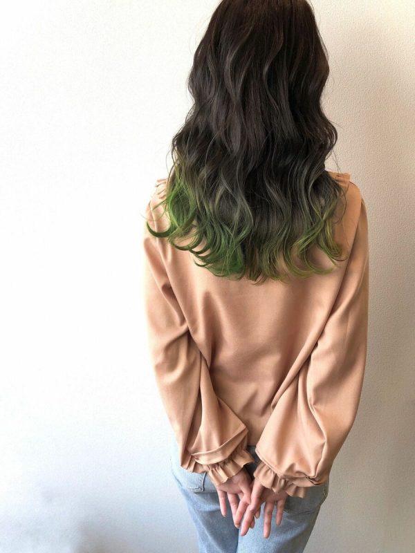 おすすめの毛先カラー9