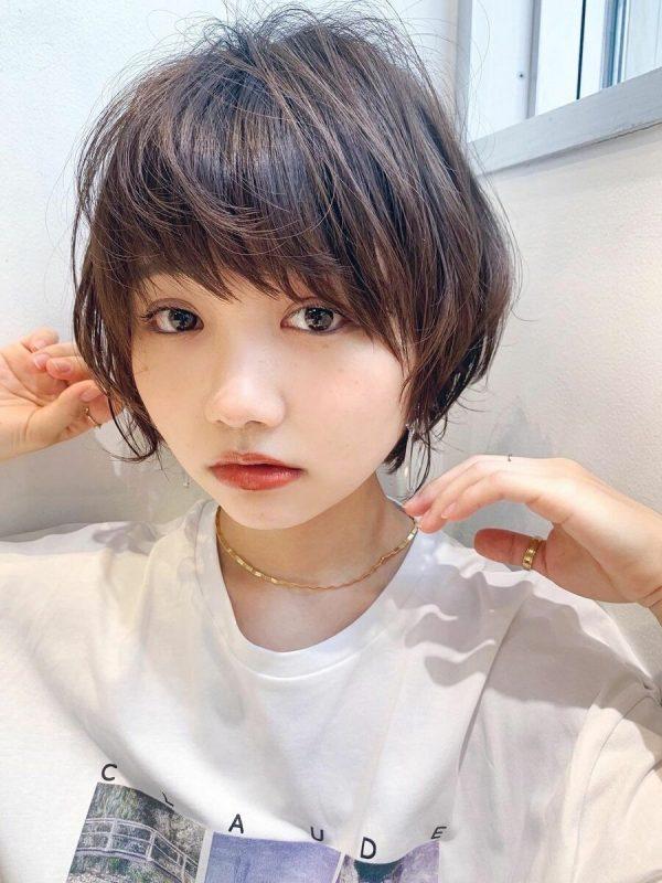 くせ毛さん×ショートヘア【前髪あり】2