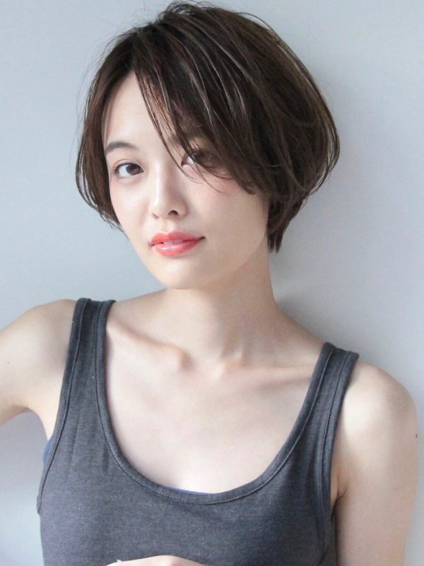 くせ毛さん×ショートヘア【前髪なし】2