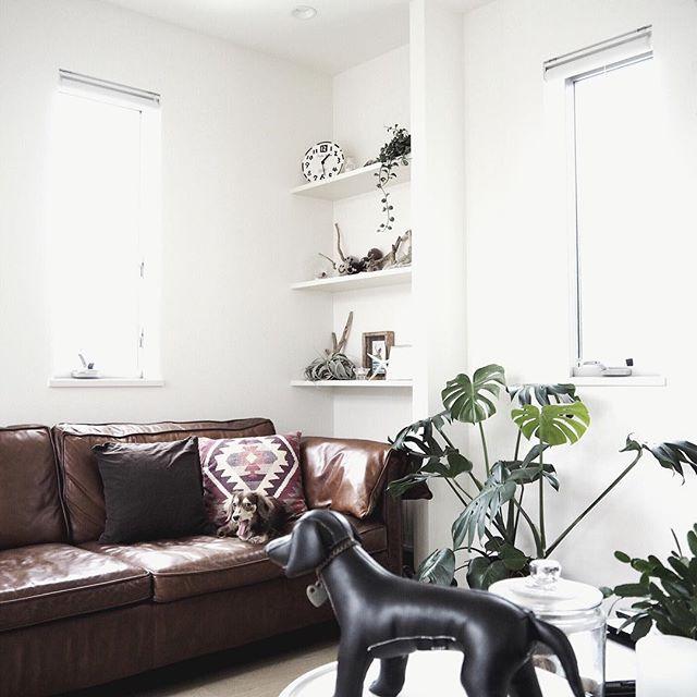 シンプルモダンで作る女性の一人暮らし部屋