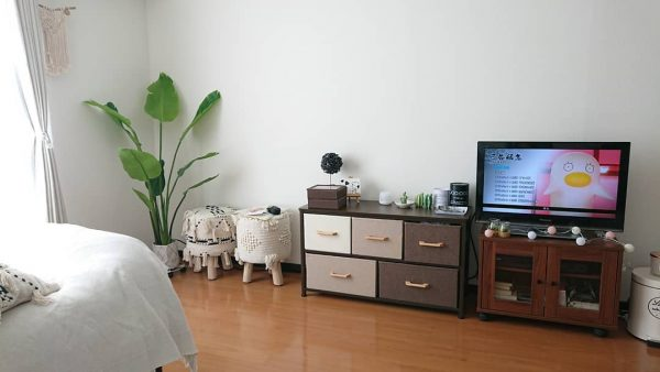 狭い可愛い部屋のアイデア 配置順2
