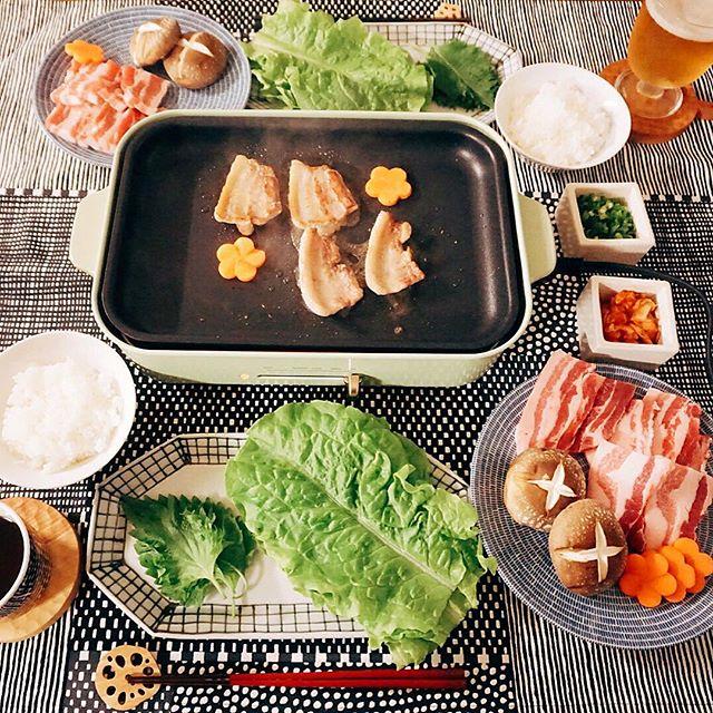 ホットプレートの簡単な人気レシピ☆定番10