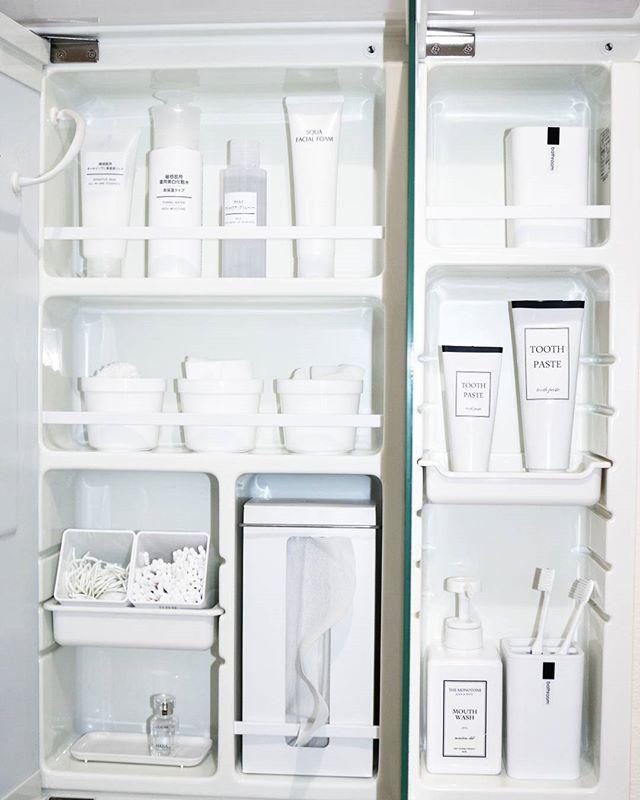 洗面所の収納棚《レイアウト》8
