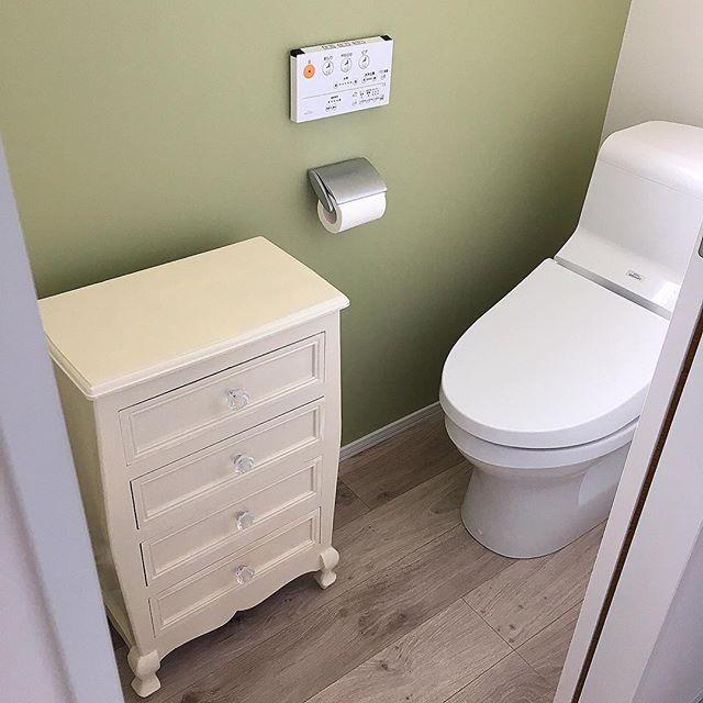 風水で南と相性の良い色を使ったトイレ