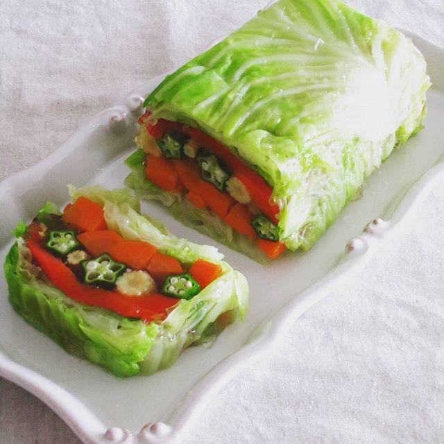 美味しい洋風料理!野菜のテリーヌ