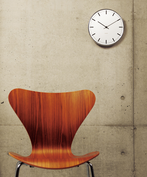 [NORDIC Feeling] Arne Jacobsen / アルネ・ヤコブセン   Clock 43621(City Hall 160mm)