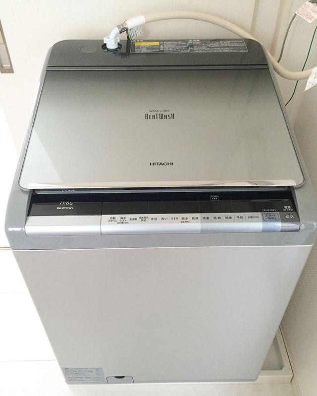 おすすめ家電②まとめ洗いに縦型7kg以上