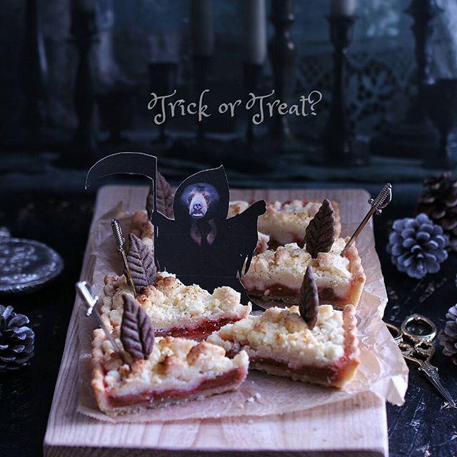 ハロウィンの可愛い手作りケーキ☆ホール6