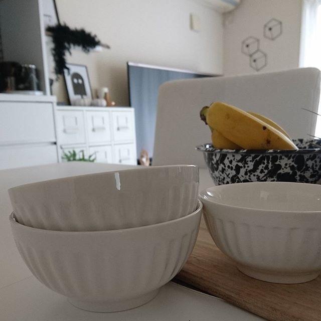 シンプルでおしゃれなお茶碗の食器