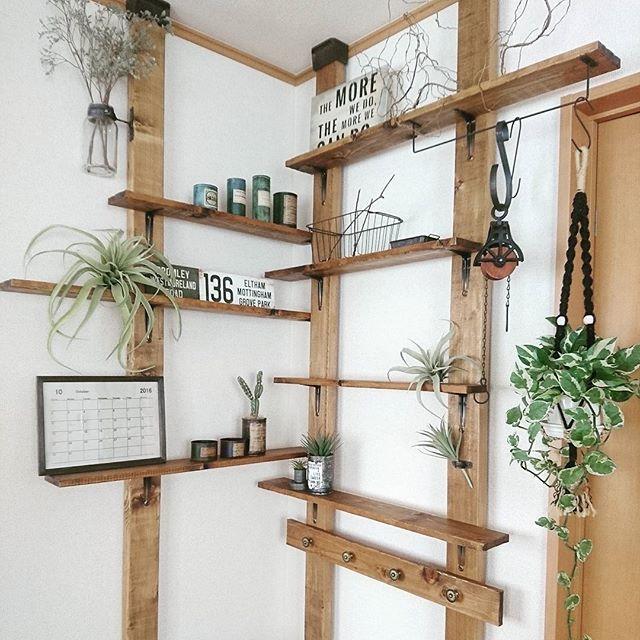 壁面棚の簡単DIYアイデア《ディアウォール》2