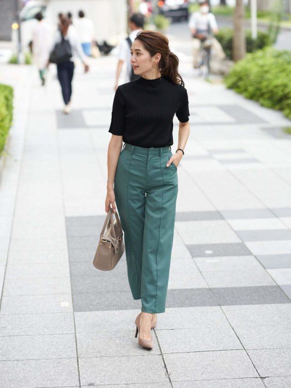 大人女性 ファッション パンツ1