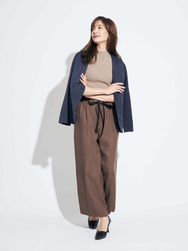 大人が着こなす秋ファッション【パンツ】2