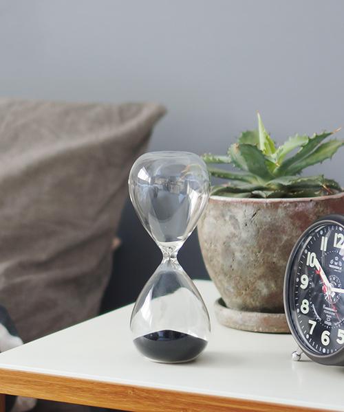 美しいデザインの砂時計