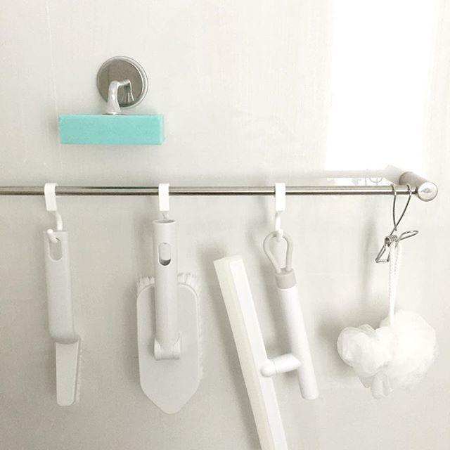 お風呂掃除でのウタマロ石鹸の使い方