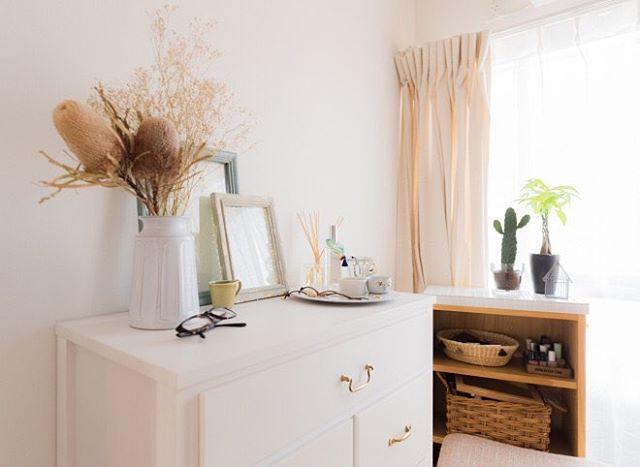 明るい色で作る女性の一人暮らし部屋