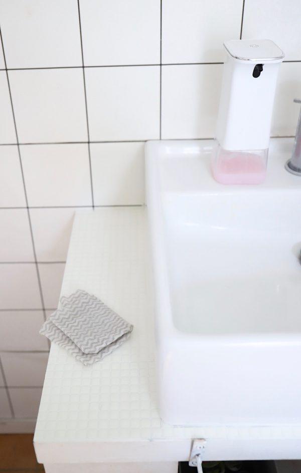 セリア 洗面台 セルフリフォーム16