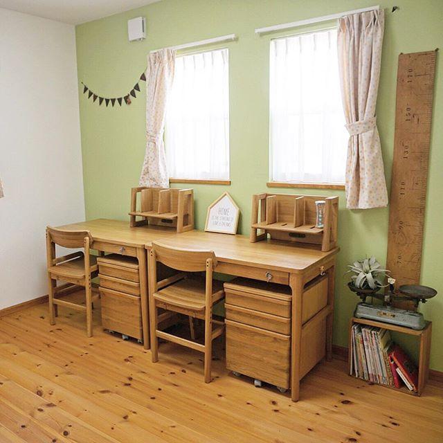 風水で南と相性の良い色を使った子供部屋