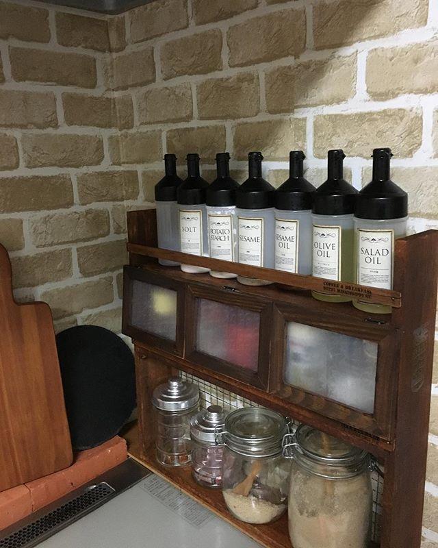 セリアのオイルボトル