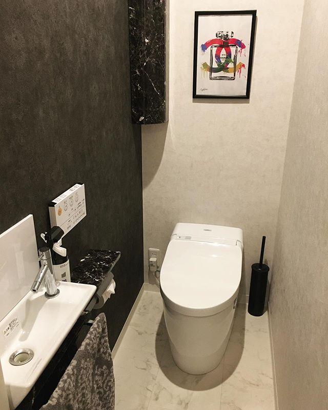 トイレの壁をセルフリノベーション