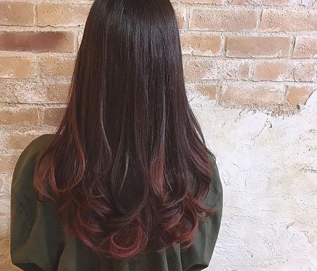 おすすめの毛先カラー14