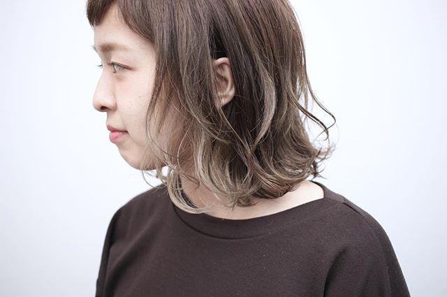おすすめの毛先カラー6