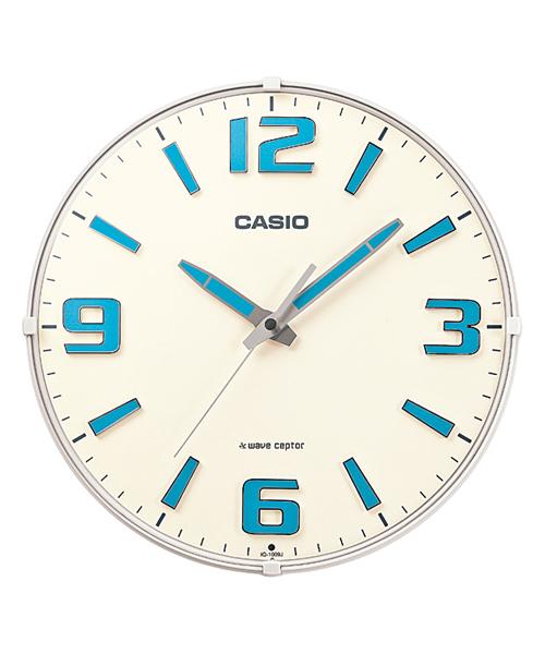 [CASIO] 壁掛け時計 / 電波時計 / IQ-1009J-7JF