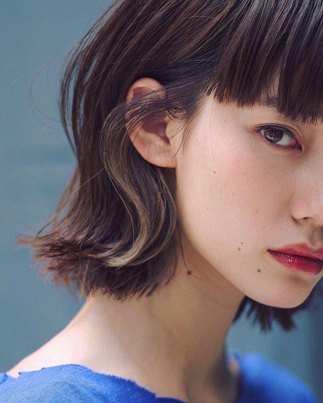 おすすめの毛先カラー5