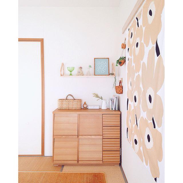 可愛い雑貨で作る女性の一人暮らし部屋
