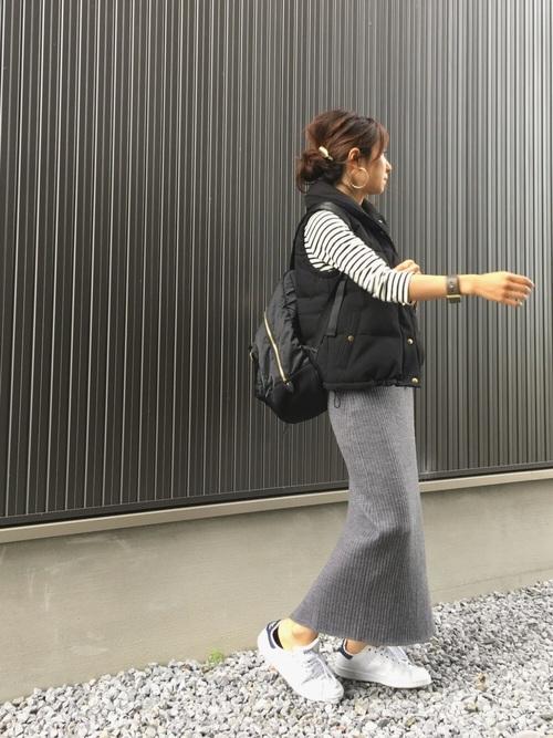 秋のおしゃれな運動会コーデ《スカート》10