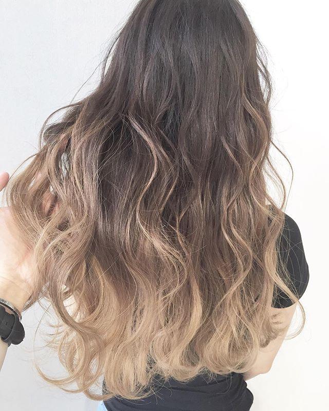 おすすめの毛先カラー