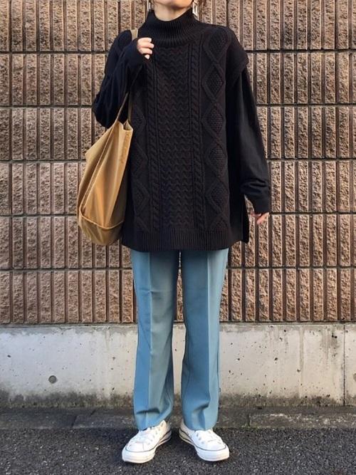 秋のおしゃれな運動会コーデ《パンツ》5