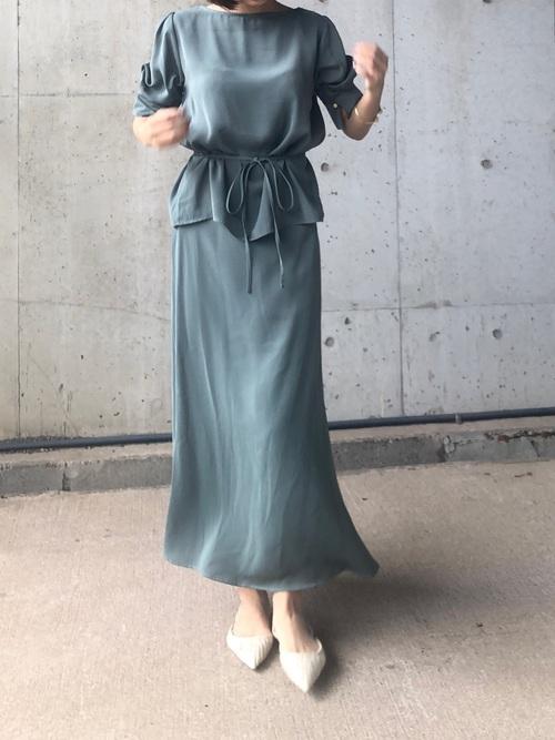 [STYLE AVENUE] 【ファッションインフルエンサーerikoさん×LAVEANGEコラボ】マルチWAYセットアップ ワンピース