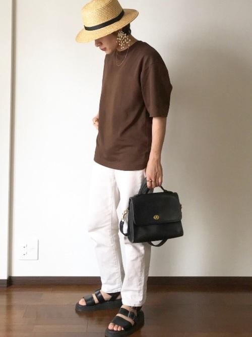 ユニクロ Tシャツ コーデ9