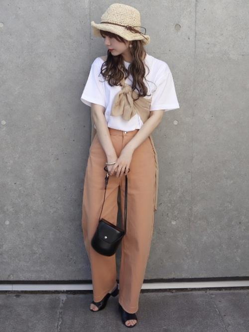 ユニクロ Tシャツ コーデ3