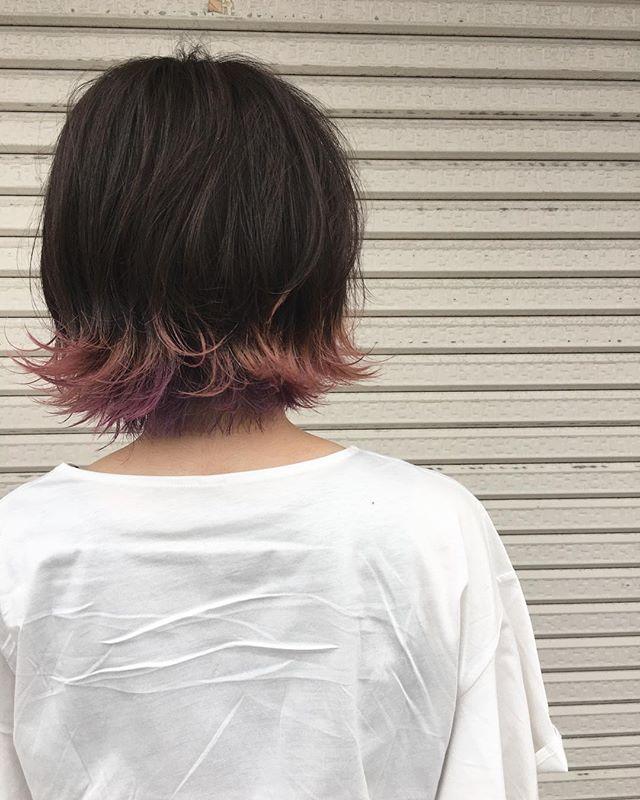おすすめの毛先カラー16
