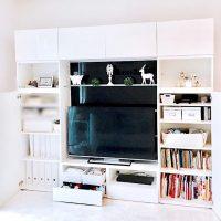 テレビボードの収納アイデア特集!ボックスや引き出しを上手に使ってすっきり!