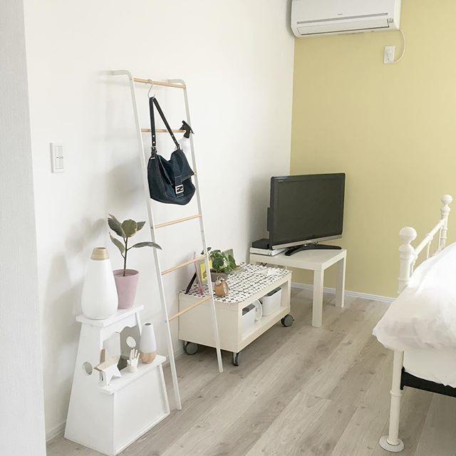 風水で南西と相性の良い色を使った寝室