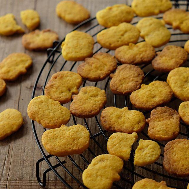 ハロウィンに!簡単可愛いかぼちゃクッキー