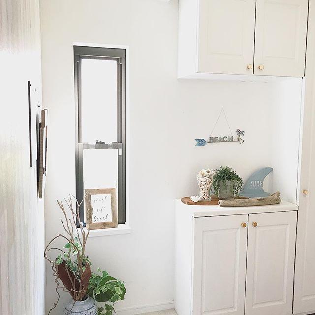 風水で南と相性の良い色を使った玄関