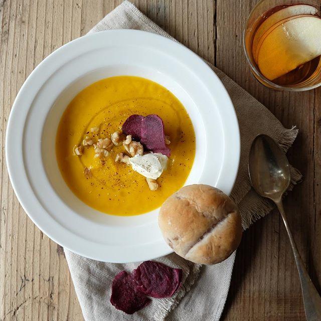 パエリアに合う!かぼちゃのポタージュスープ