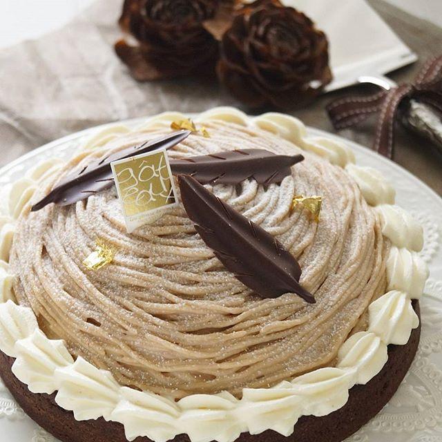 ハロウィンの可愛い手作りケーキ☆ホール8