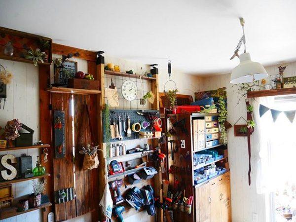 壁面に工具を収納2