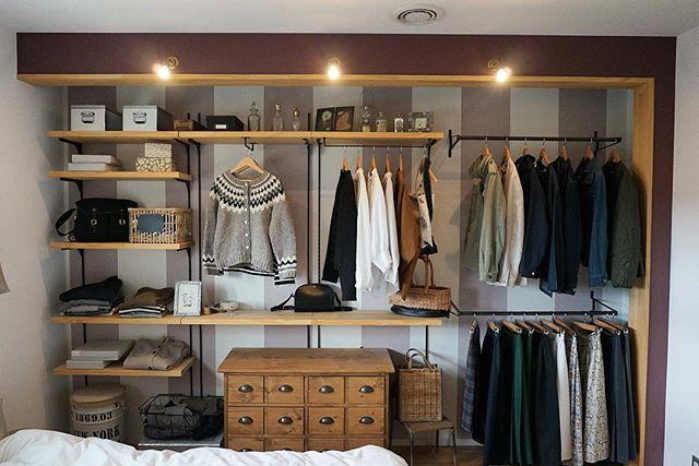 洋服収納専用のスペース