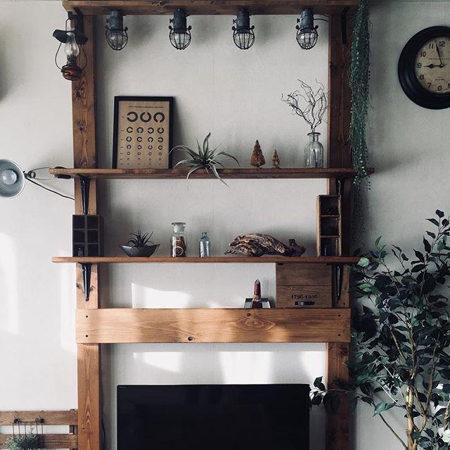 壁面棚の簡単DIYアイデア《ディアウォール》