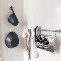 吊るすシャンプー収納のアイデア特集!掃除が楽チンで浴室の見た目もスッキリ!